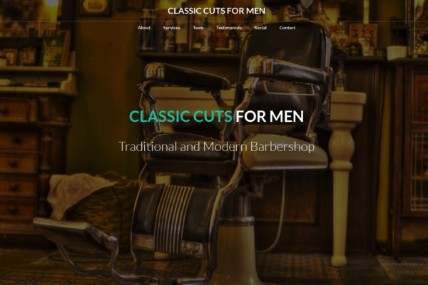 Classic Cuts For Men